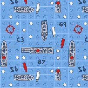 Battleship Game Night // game room decor board game battleship game night fabric