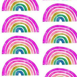 Rainbow - Purple - 4 Inch