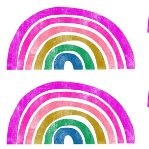 Rainbow - Purple - 16 inch