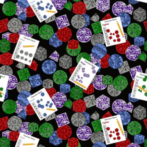 Party Time! Let the Good Dice Roll! by Shari Lynn's Stitches