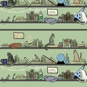Cosy Magic Books & Cats