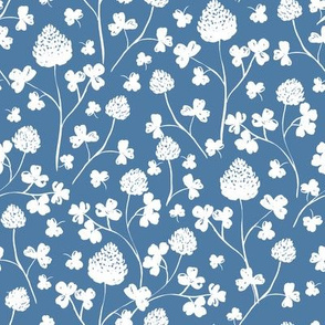 Wildflowers -  Parisian Blue-Vertical