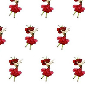 Flower Child (Children's Book) American Beauty Rose