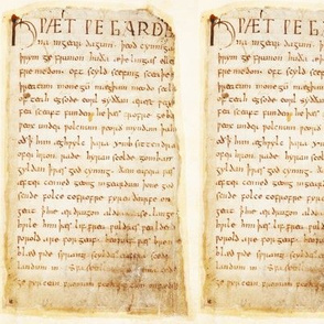 Beowulf  Epic - ms_vitellius