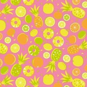 Tropical citrus fruit - pink