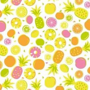 Tropical citrus fruit