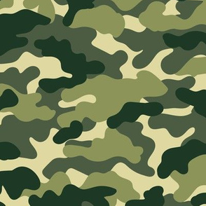 Minimal trend camouflage texture army design green forest