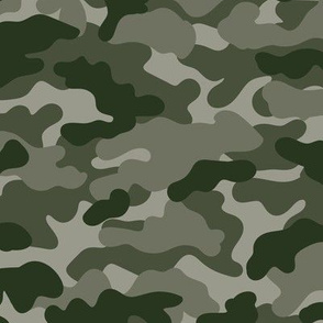 Minimal trend camouflage texture army design green gray