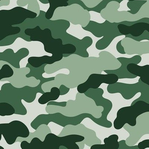 Minimal trend camouflage texture army design forest green mint