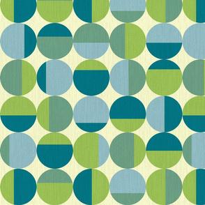 Test Pattern Blues Greens