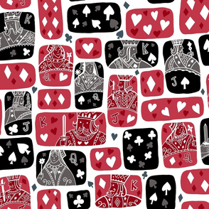 The Queen of Hearts - she plays to win