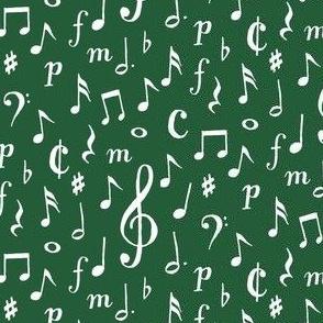 musical - dark green