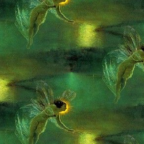 John Atkinson Grimshaw's Spirit of the Night ~ Custom Reverse