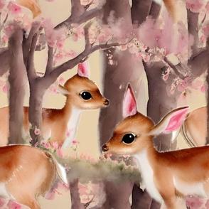 Blue, purple flowers