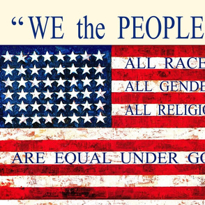 WE THE PEOPLE - USA Flag