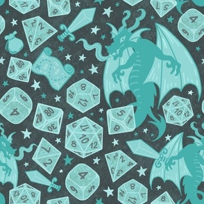 medium size ☆ rpg night ☆ dices & dragons