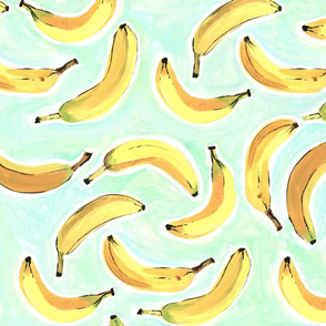 Large Go Bananas! 6in bananas ©Luanne Marten