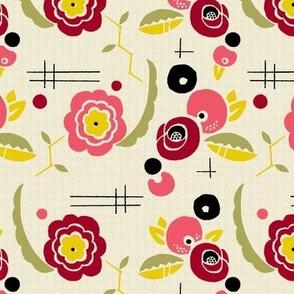 Fleurs Cubistes 1a