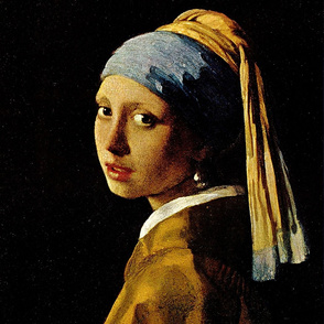 Johannes Vermeer 's Girl with a Turban 1665 (The Girl With the Pearl Earring)
