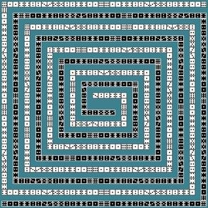 Game Night Domino Maze
