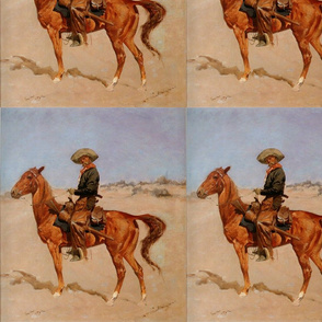Frederic Remington's The Puncher 1895