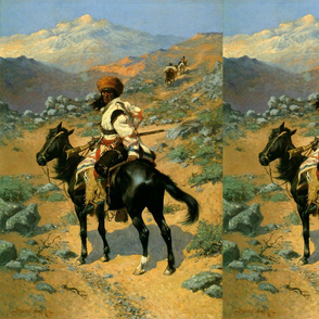 Frederic Remington's The Indian Trapper 1889