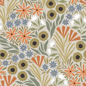 Adeline floral (beige)