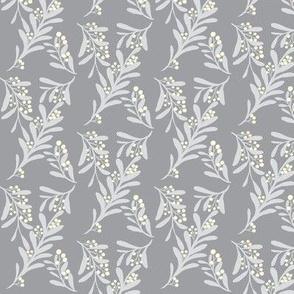 Frostberries on Mystic Grey