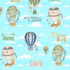 Inspirational Vintage Balloons
