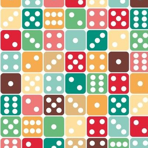 Roll of the Dice vintage palette