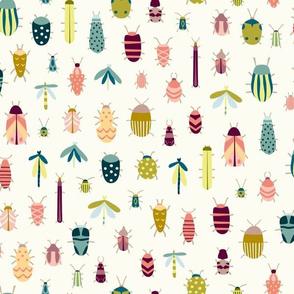 Cheerful Bugs Tropical