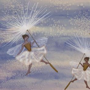 Dandelion Fluff Fairies