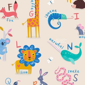 ABC of Animals Regular Scale