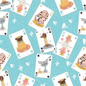 Dog gamecards gameafternoon