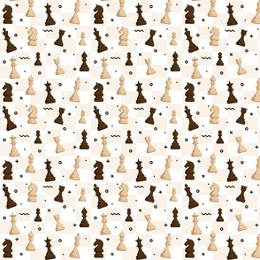 Chess - tiny scale ideal for masks