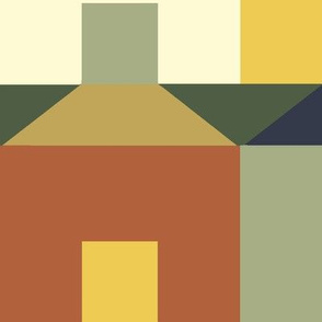 Tessellating Houses in Bayeux Palette