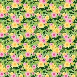 Claude's Daisy Impression - Crocodile Green