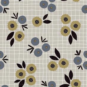 Nellie floral (beige)