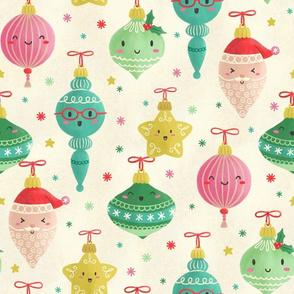 Kawaii Christmas Ornaments