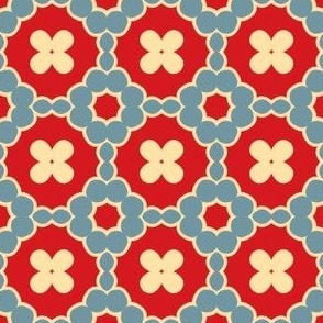Stamped: Geometrically Floral