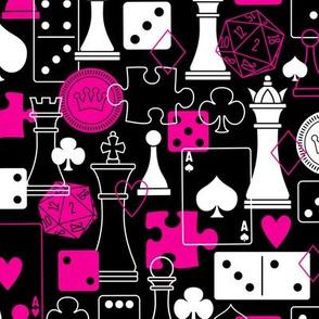 Let the Games Begin (Black & Pink)