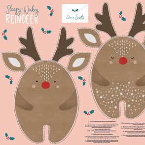 Reindeer letters to santa DIY