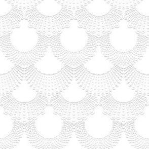 Dissent Deco, 3D White on White
