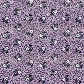 Purple calico - bright