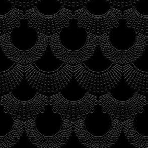 Dissent Deco, 3D Black on Black