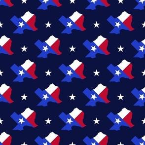 Texas Flag Diagonal - Small Scale
