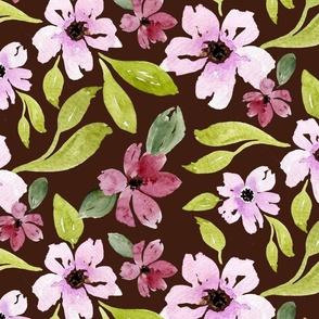 Juliana Floral in brown