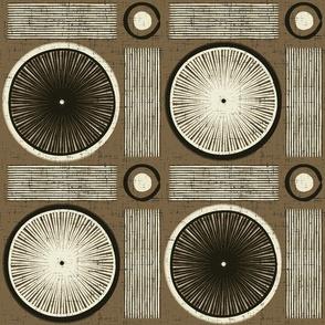 Modern Batik Circles
