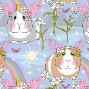 large magical fairy guinea pigs