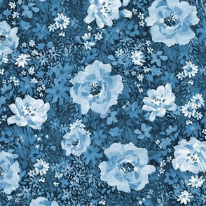 Small Blues Floral